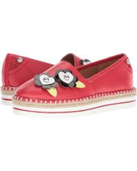Love Moschino - Faux Leather Espadrille - Lyst
