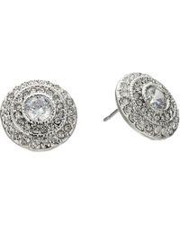 Lauren by Ralph Lauren - Social Set Vintage Crystal Stud Earrings - Lyst
