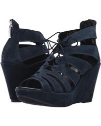 Cordani - Rally (black Suede) Women's Wedge Shoes - Lyst