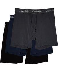 Calvin Klein - 3-pack Body Modal Boxer Brief (black/sacrab/dlyan Red) Men's Underwear - Lyst