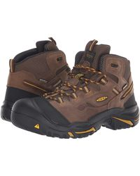 Keen Utility - Braddock Mid Soft Toe Waterproof (cascade Brown/tawny Olive) Men's Work Boots - Lyst