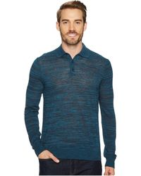 Perry Ellis | Space Dyed Sweater Polo | Lyst