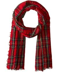 Polo Ralph Lauren - Vintage Wool Tartans Scarf (dress Gordon) Scarves - Lyst