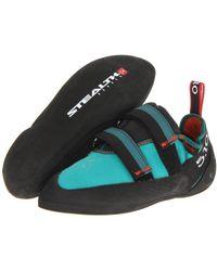 Five Ten - Anasazi Lv (teal) Women's Climbing Shoes - Lyst