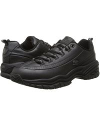 Skechers Work - Softie (black) Women's Industrial Shoes - Lyst