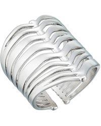 Kendra Scott - Liv Ring (rhodium Metal) Ring - Lyst