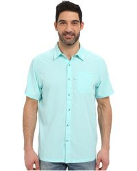 Columbia - Slack Tidetm Camp Shirt (gulf Stream) Men's Short Sleeve Button Up - Lyst