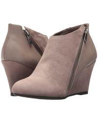 Dirty Laundry - Dl Violet Wedge Bootie (pebble Taupe) Women's Shoes - Lyst