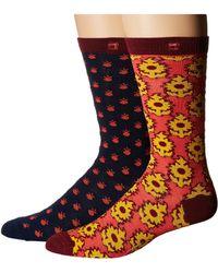 Scotch & Soda - 2-pack Classic Socks In Colorful Pattern - Lyst