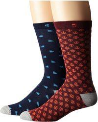 Scotch & Soda - 2-pack Classic Socks In Fun Pattern - Lyst