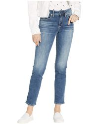 2426d4391d3 Silver Jeans Co. - Avery High-rise Curvy Fit Slim Leg Jeans In Indigo