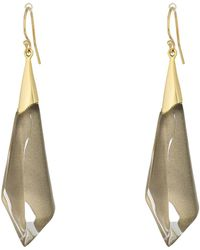 Alexis Bittar - Faceted Wire Earrings (pacific) Earring - Lyst