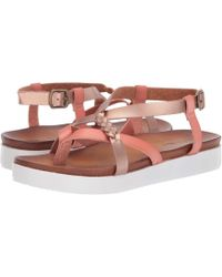 Not Rated - Sela (blush) Women's Flat Shoes - Lyst