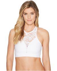 Onzie - Bridal High Neck Bra (white) Women's Workout - Lyst