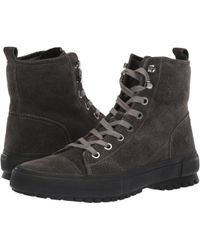 Frye - Ryan Military (slate Waterproof Suede) Men's Lace-up Boots - Lyst