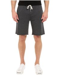 Threads For Thought - Burnout Wash Shorts (black) Men's Shorts - Lyst