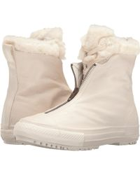 e6deb0b1f8a Hot Converse - Chuck Taylor® All Star® Shroud Leather + Fur Hi-rise Boot
