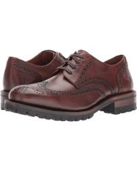 Frye - George Lug Wingtip Oxford - Lyst