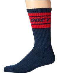 Obey - Cooper Deuce Socks - Lyst