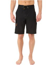 Rainforest - Wayne Boardshorts In Stretch Oxford - Lyst