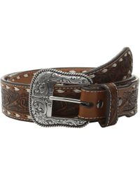 Ariat - Tapered Floral Belt - Lyst