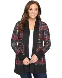 Roper - Plus Size 0607 Printed Poly Spandex Jersey - Lyst