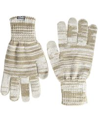 Converse - Knit Touchteck Gloves - Lyst