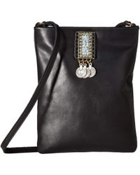 Leatherock - Amira Cell Pouch (black) Cross Body Handbags - Lyst