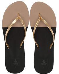 0bea6dd9b270 Reef - Bliss Toe Dip (flame) Women s Sandals - Lyst