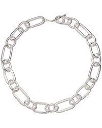 """Lauren by Ralph Lauren - 17"""" Link Collar Necklace - Lyst"""
