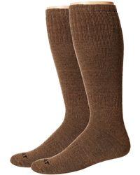 Ariat - Merino Hunting 2-pack Socks (brown) Men's Crew Cut Socks Shoes - Lyst