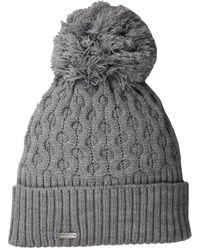 CALVIN KLEIN 205W39NYC - Honeycomb Cable Beanie - Lyst