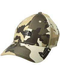 d29210e53ec The North Face - 66 Classic Tech Hat (tnf Black) Caps - Lyst