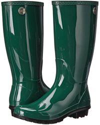 a6f576b82b8 Lyst - UGG Shaye Leopard-print Rain Boot in Black