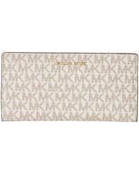 df091cbc5a82 MICHAEL Michael Kors - Large Card Case Carryall (brown/acorn) Credit Card  Wallet