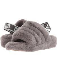 UGG - Fluff Yeah Fur Slides - Lyst