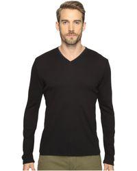 CALVIN KLEIN 205W39NYC - Long Sleeve Rib V-neck T-shirt - Lyst