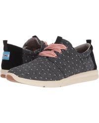 TOMS - Del Rey (birch Suede mosaic Tile) Women s Lace Up Casual Shoes 3062d825c