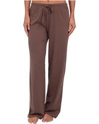 Jockey - Cotton Essentials Long Pajama Pant - Lyst