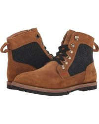 76c90019c3 Woolrich - World Discover (tenor) Men s Lace-up Boots - Lyst