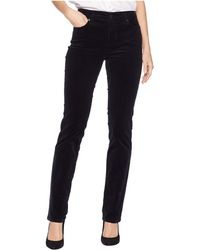Lauren by Ralph Lauren - Premier Straight Corduroy Jeans (polo Black) Women's Casual Pants - Lyst