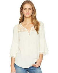 Wrangler - Western Fashion Shirt (vanilla Ice) Women's Clothing - Lyst
