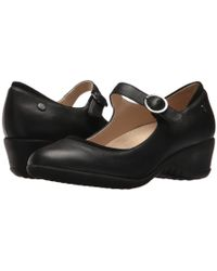Hush Puppies - Odell Mary Jane (tan Leather) Women's Wedge Shoes - Lyst