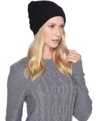 UGG - Luxe Knit Cuff Beanie (stone Heather) Beanies - Lyst