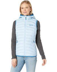 00572cd347 Marmot - Bronco Hooded Vest (iceberg) Women s Vest - Lyst