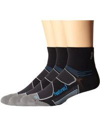 Feetures | Eliter Ultra Light Quarter 3-pair Pack | Lyst