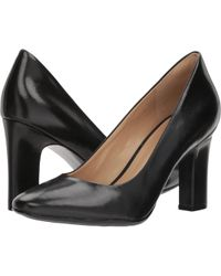 a5861d9aa718 Lyst - Naturalizer Venecia (black Leather) High Heels in Black