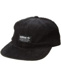 fb4d5ccd67c85 adidas Originals - Originals Relaxed Wide Wale Strapback (black white) Caps  - Lyst