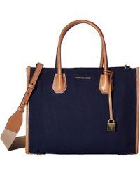 10cdd5bdf370 MICHAEL Michael Kors - Mercer Large Convertible Tote (jasmine Yellow) Tote  Handbags - Lyst