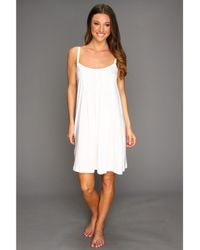 Hanro - Juliet Babydoll (white) Women's Pajama - Lyst